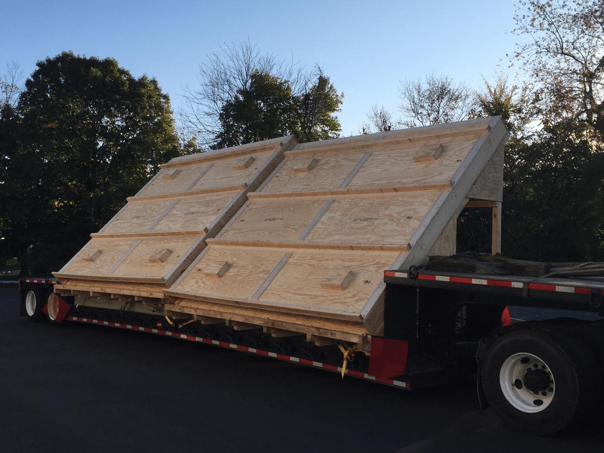 Heavy-duty-Angle-shipping-skid